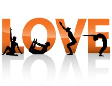 Love+yoga+orange